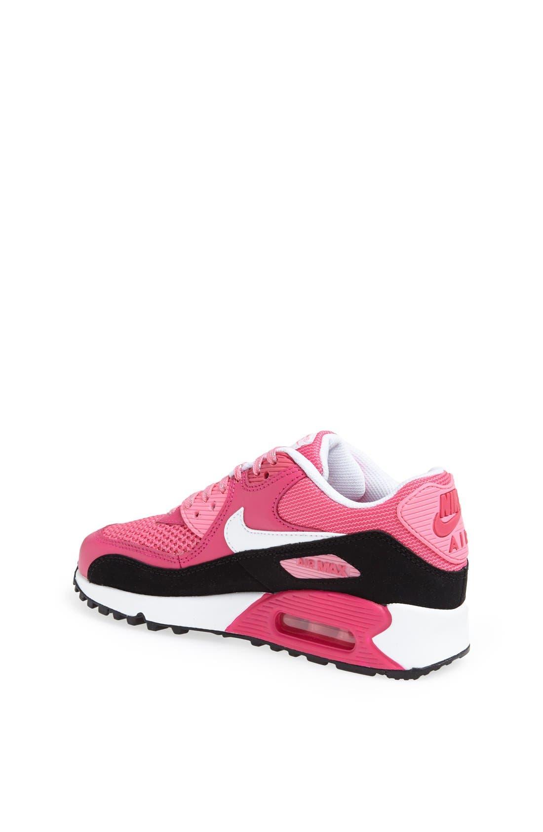 Alternate Image 2  - Nike 'Air Max 90 LE' Running Shoe (Big Kid)