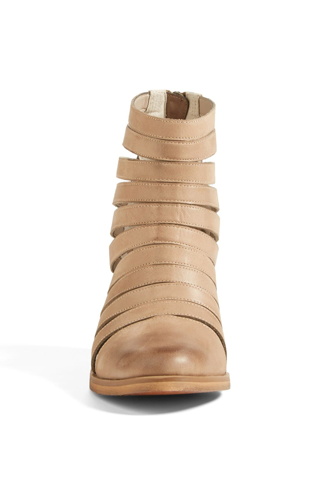 Alternate Image 3  - Hinge 'Dresden' Caged Leather Bootie (Women)