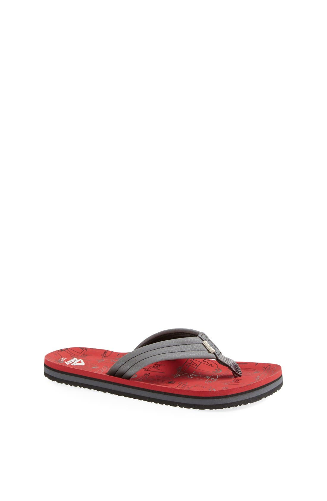 Main Image - Reef 'Ahi - Monster' Surf Sandal (Baby, Walker, Toddler, Little Kid & Big Kid)