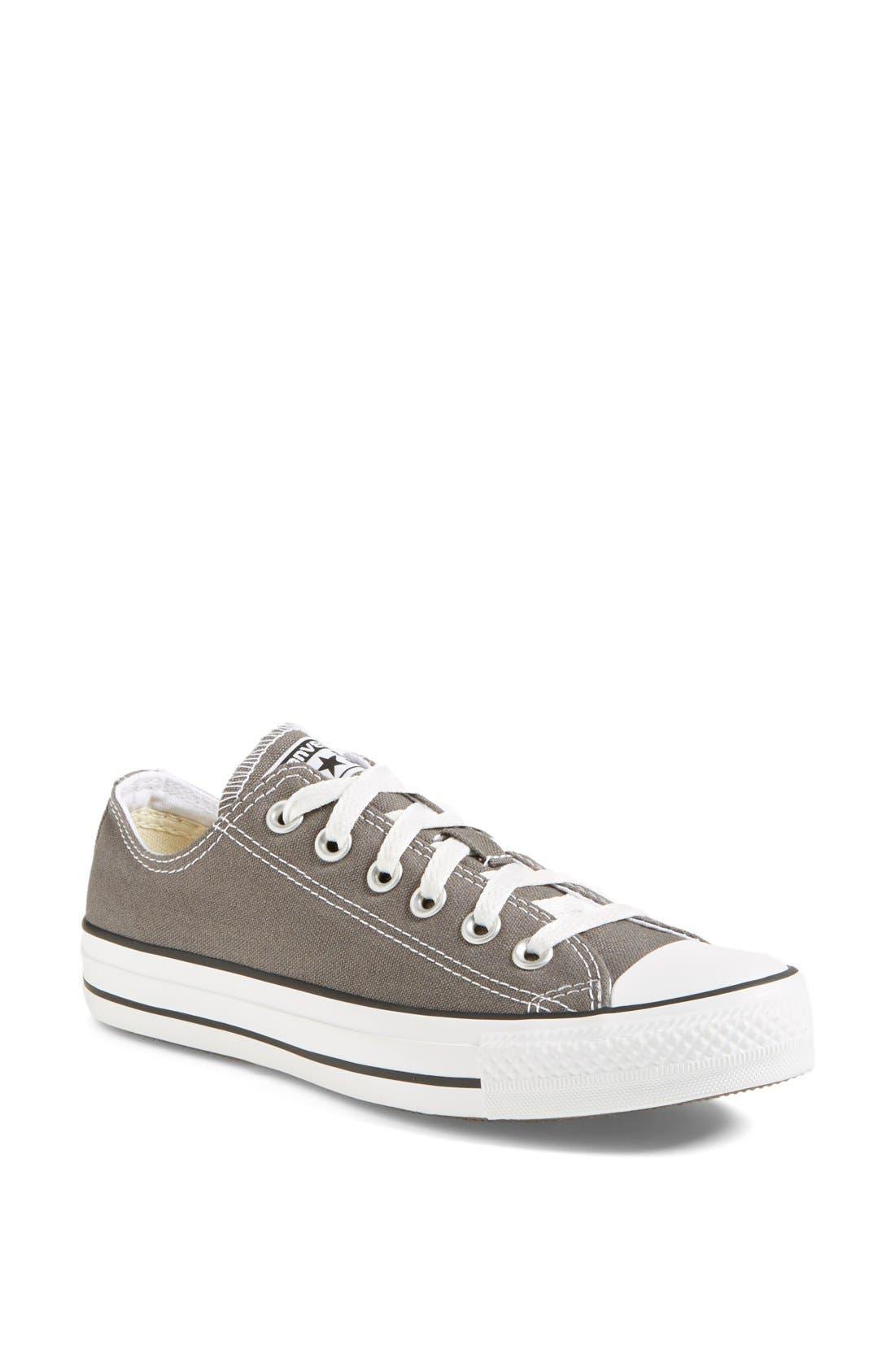 Chuck Taylor<sup>®</sup> Low Sneaker,                             Main thumbnail 1, color,                             Charcoal