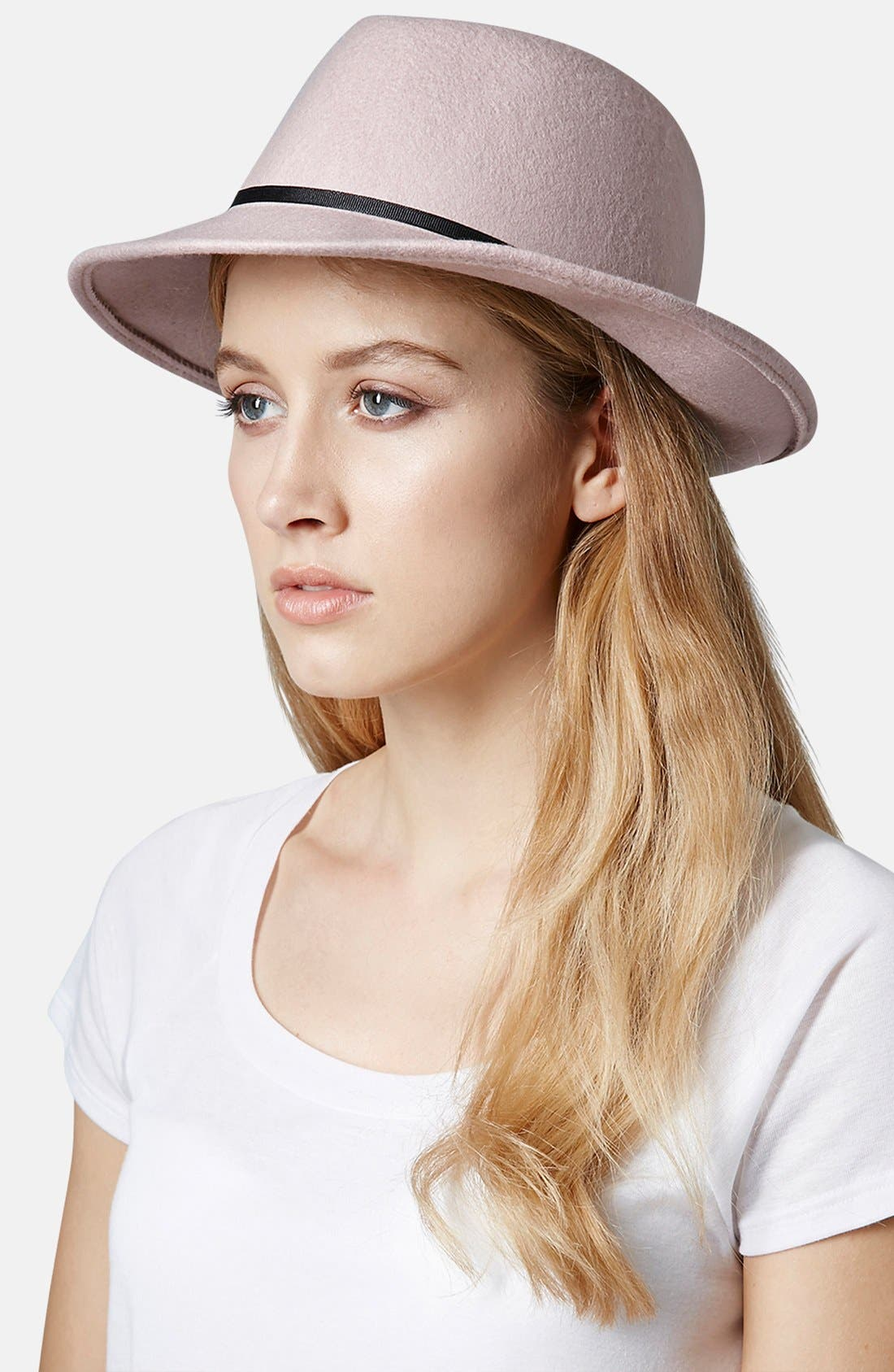 Alternate Image 2  - Topshop Wool Fedora