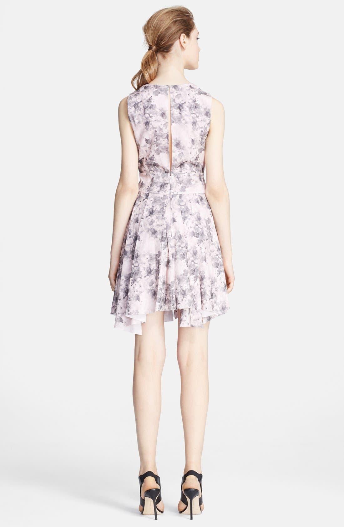 Alternate Image 2  - Robert Rodriguez Bonded Floral Print Dress