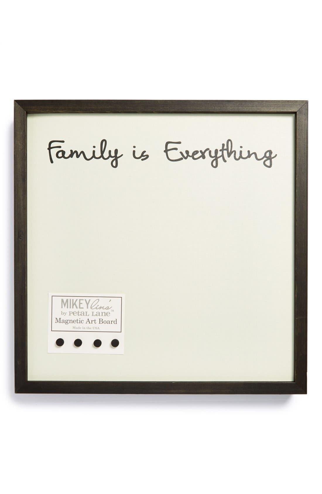 Main Image - Petal Lane 'Family Is Everything' Medium Magnet Board