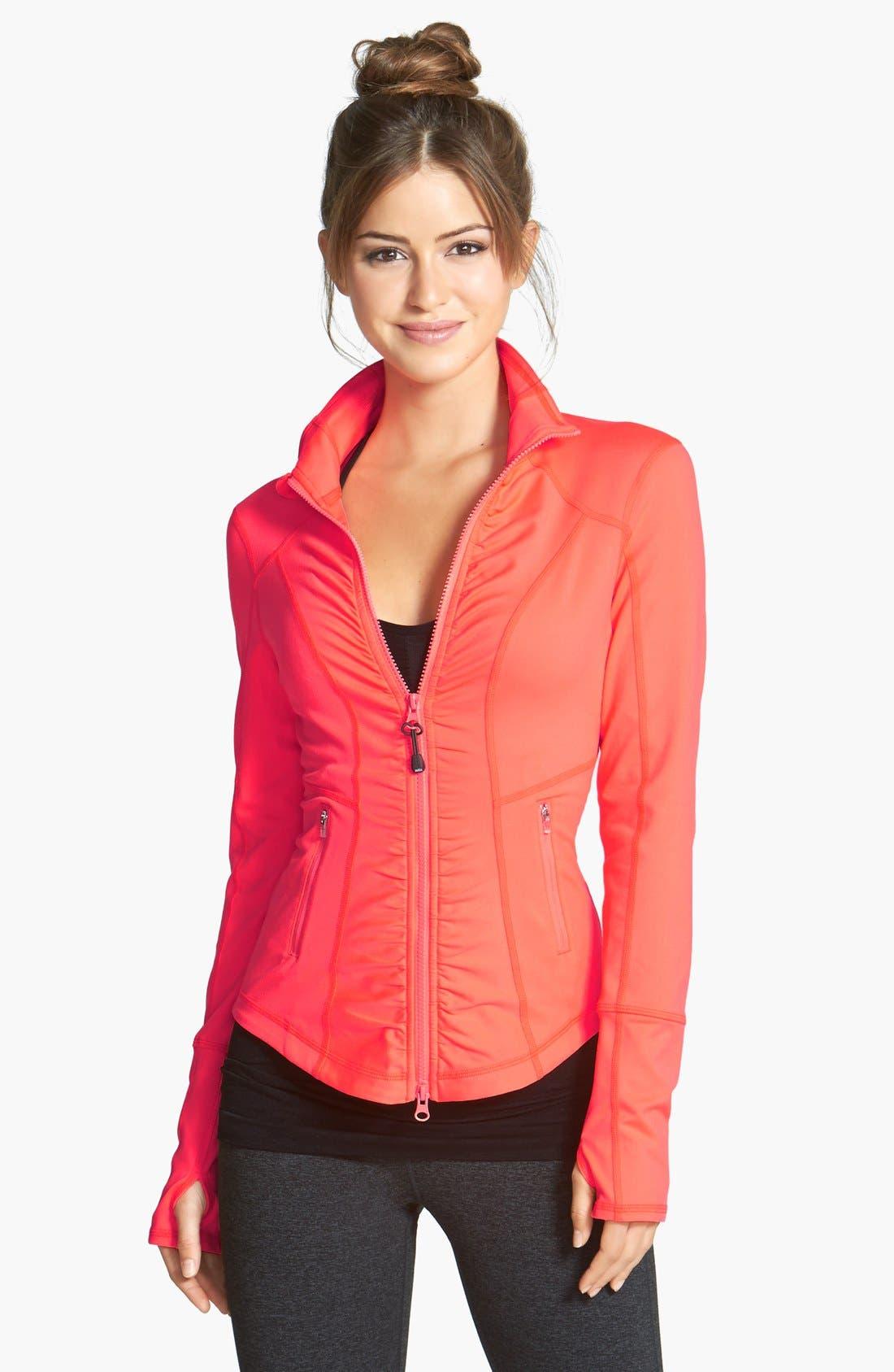 'Essential' Jacket,                         Main,                         color, Coral Bloom