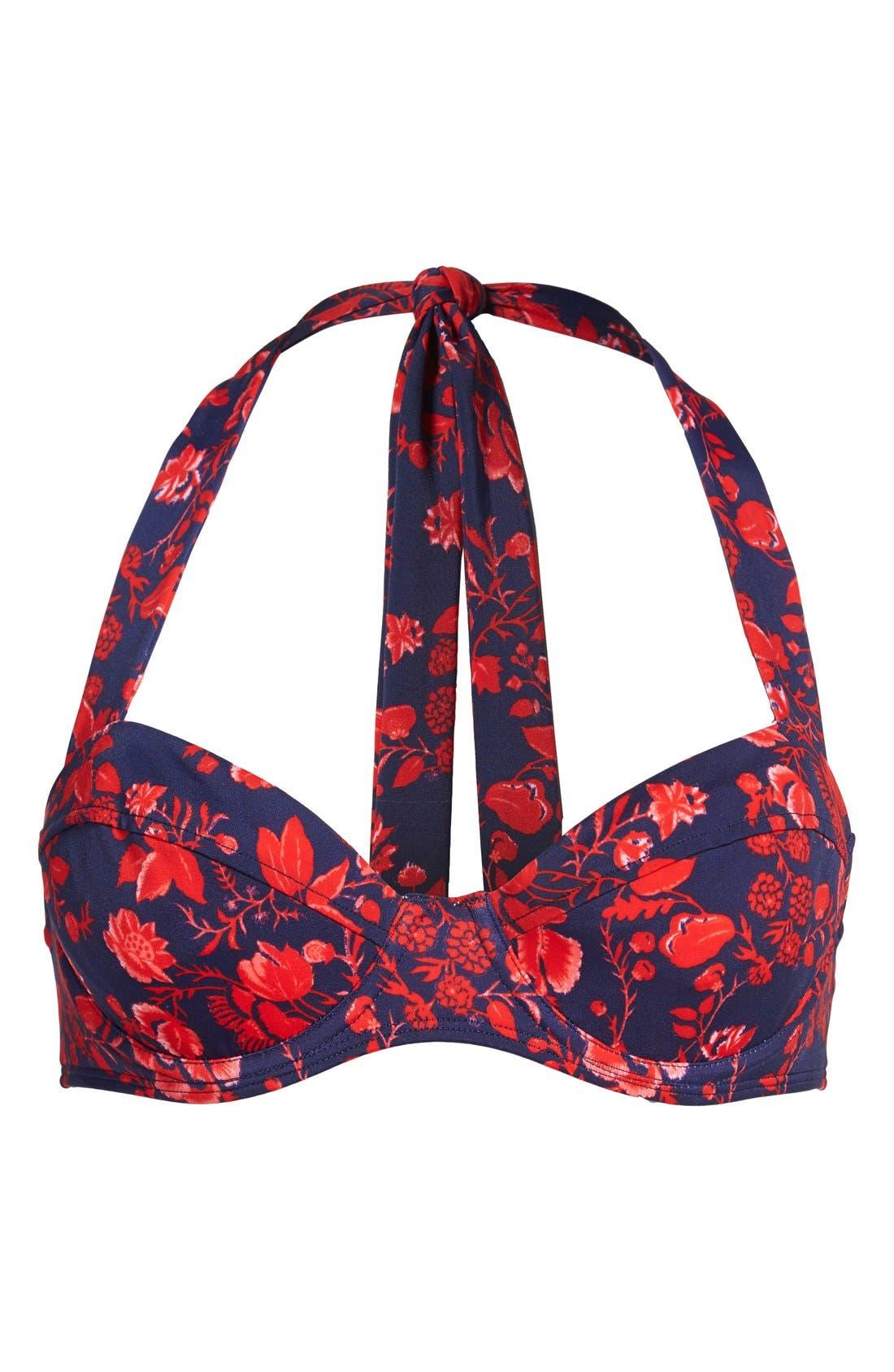 Main Image - Pret-à-Surf Retro Bikini Top