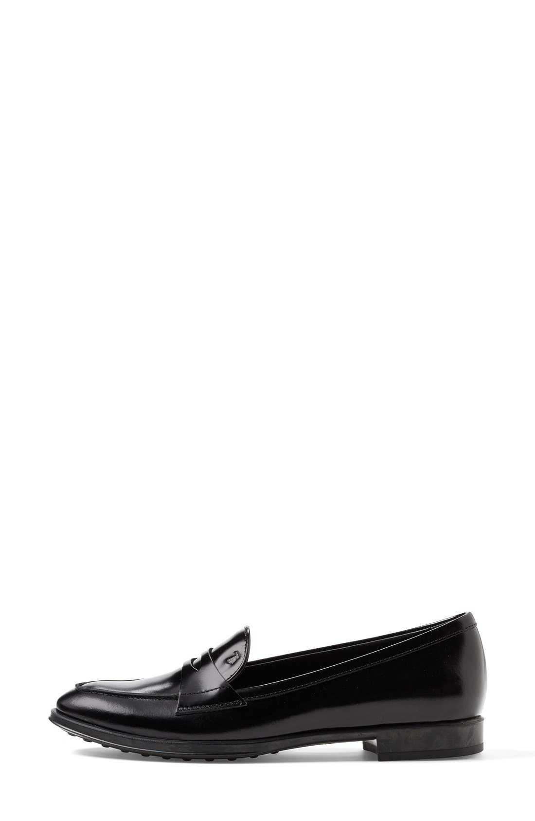 Alternate Image 4  - Tod's Leather Penny Loafer (Women)