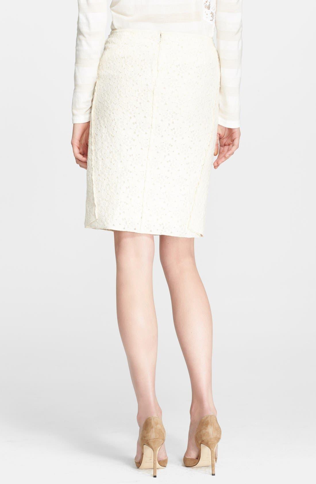 Alternate Image 2  - Nina Ricci Lace Skirt