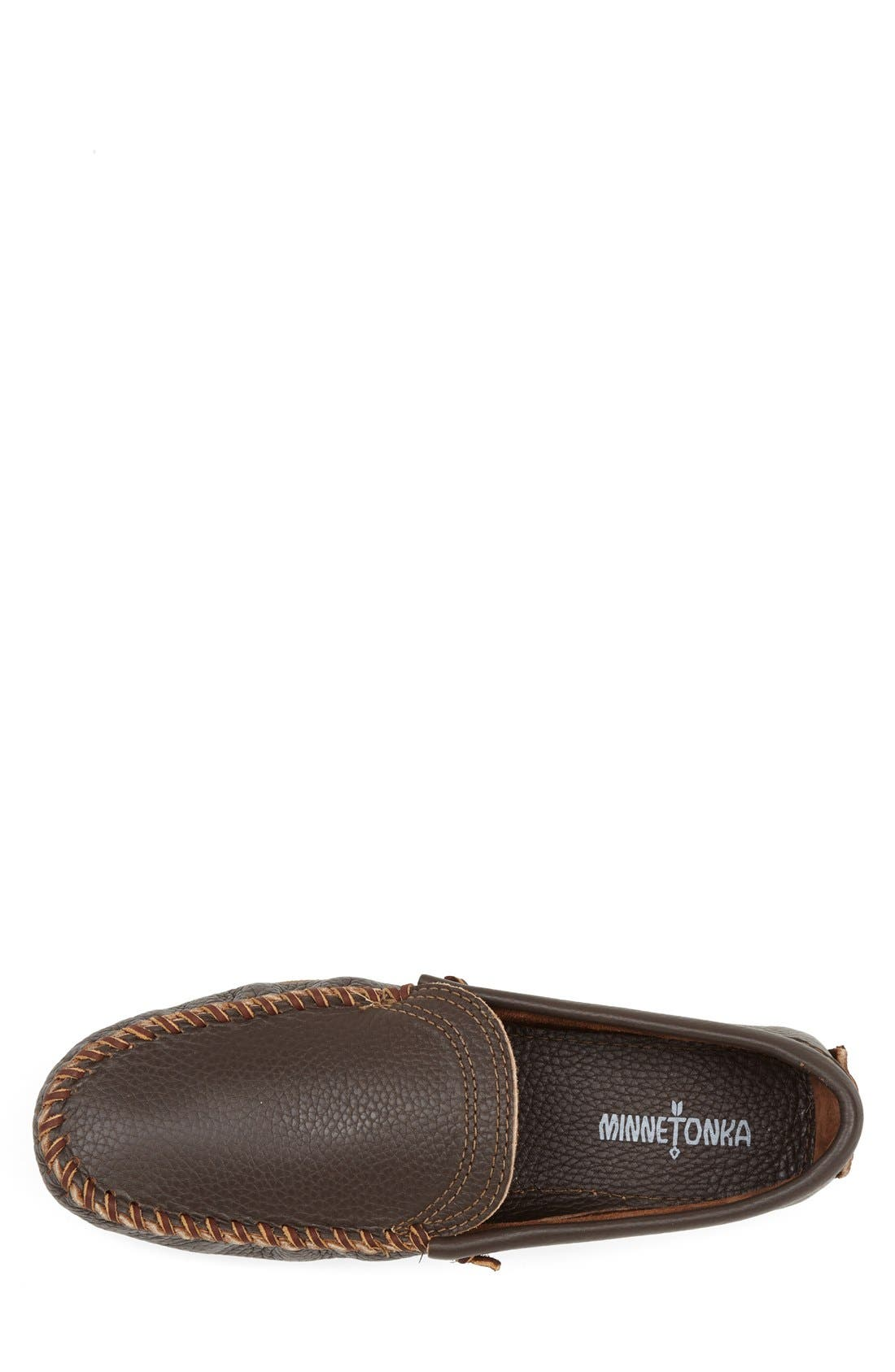 Venetian Loafer,                             Alternate thumbnail 3, color,                             Dark Brown