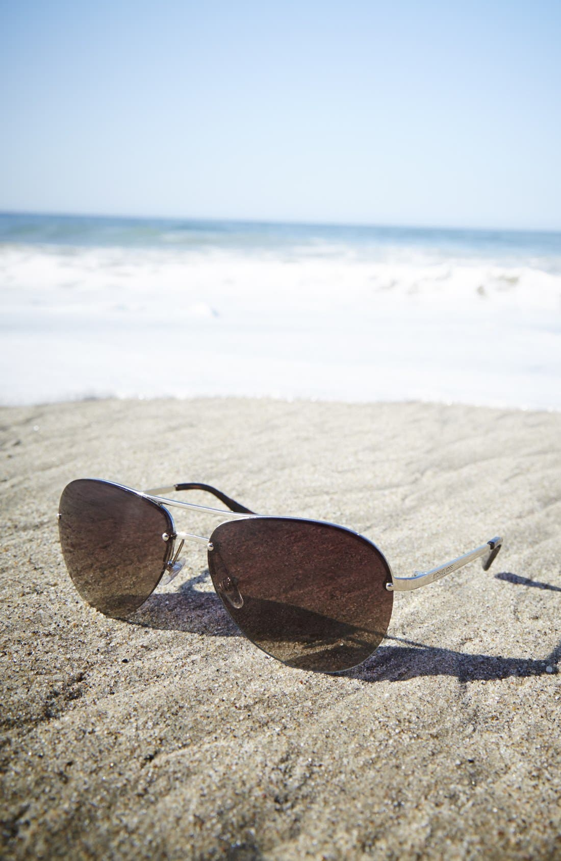 Alternate Image 3  - MICHAEL Michael Kors 'Kai' 62mm Aviator Sunglasses