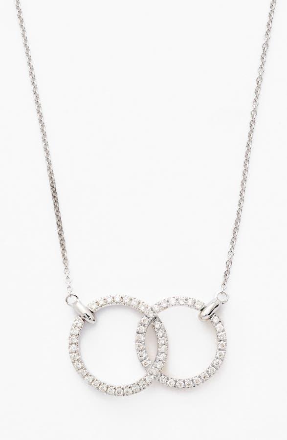 Bony levy double diamond circle pendant necklace nordstrom main image bony levy double diamond circle pendant necklace nordstrom exclusive aloadofball Images