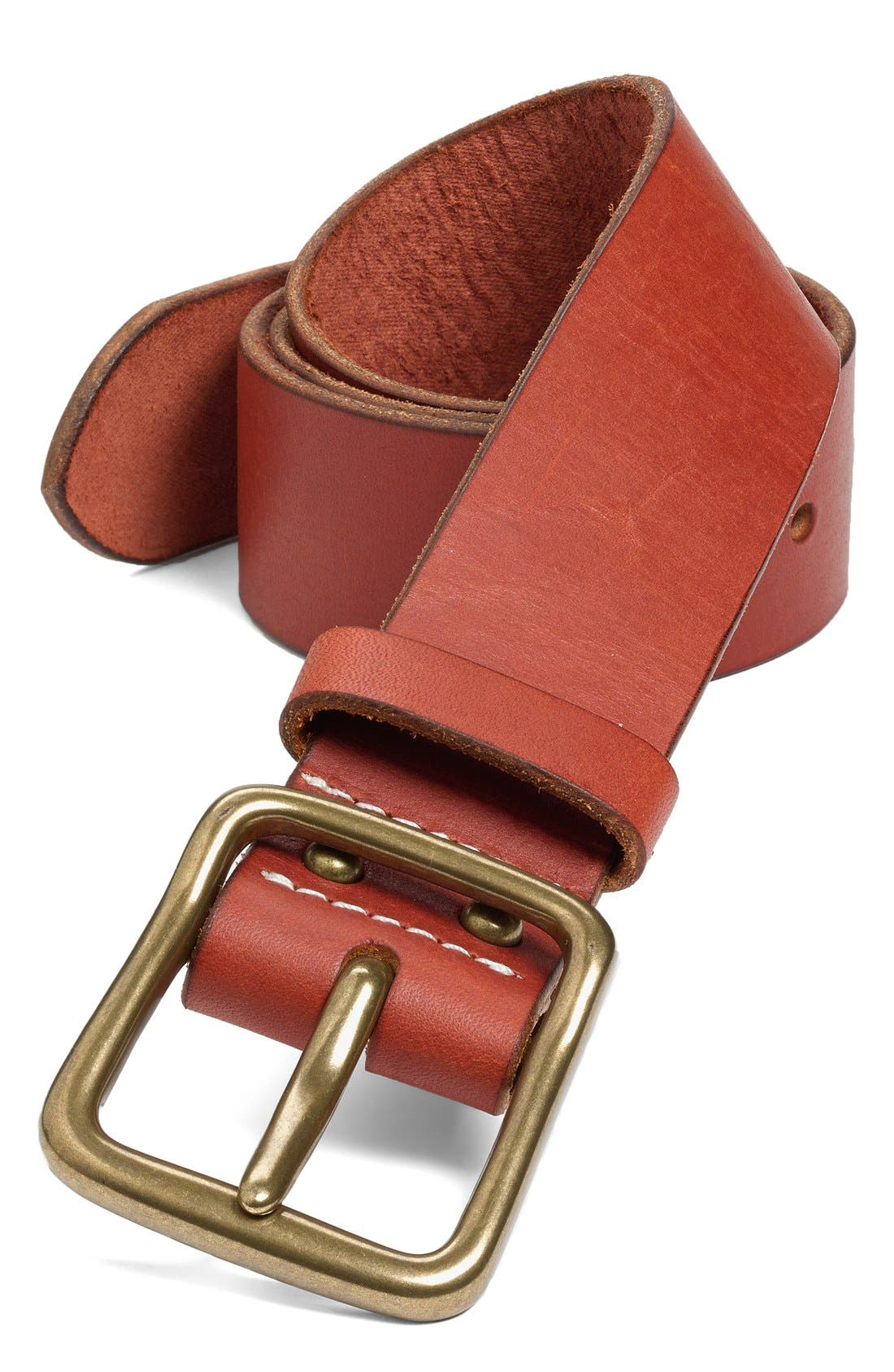 'Pioneer' Belt,                             Main thumbnail 1, color,                             Oro/ Brass