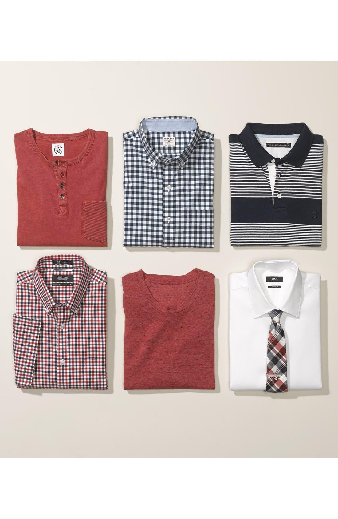 Alternate Image 3  - BOSS HUGO BOSS 'Enzo' WW Regular Fit Easy Iron Dress Shirt