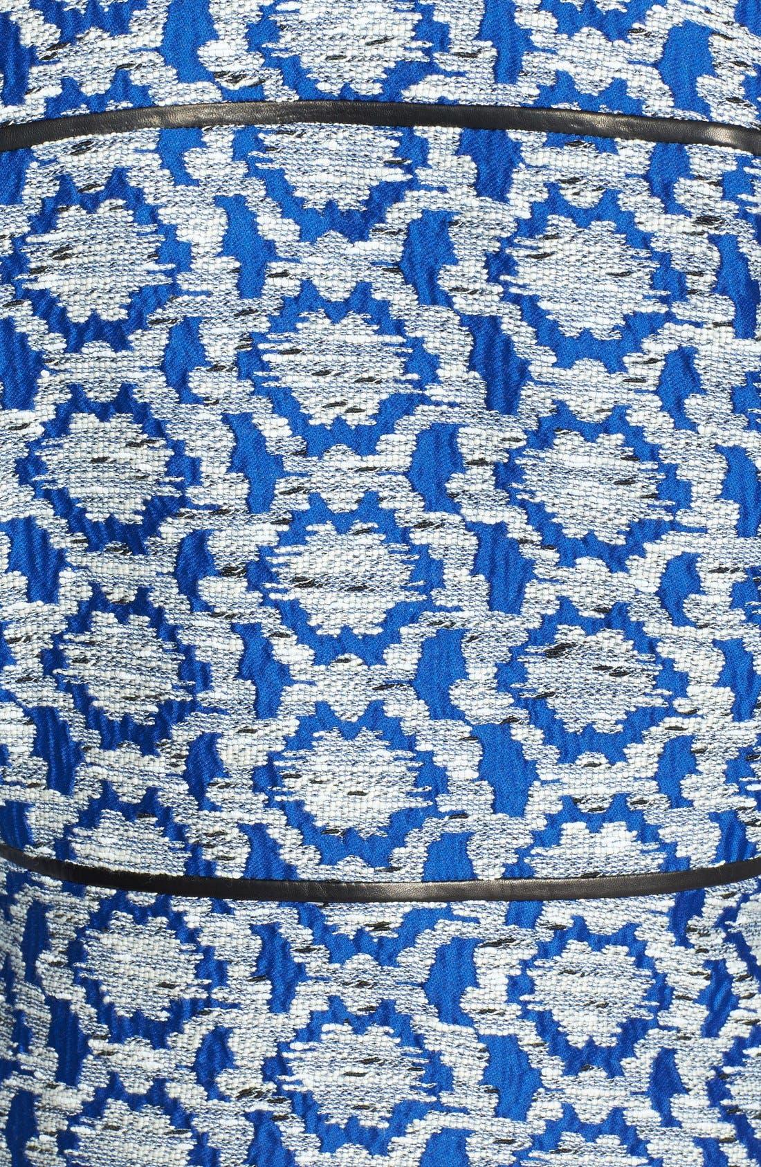 Alternate Image 3  - Diane von Furstenberg 'Maelee' Crop Jacquard Jacket