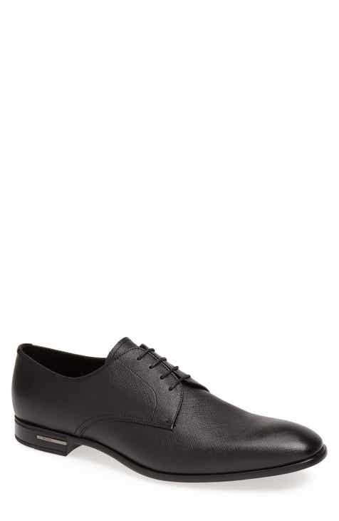 94cbbc561d26 Prada Plain Toe Derby (Men)