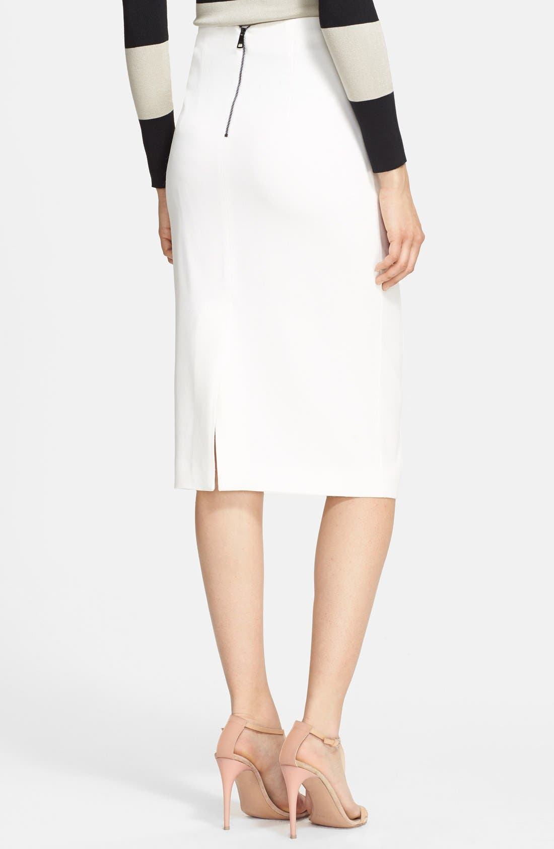 Alternate Image 2  - Burberry London Pencil Skirt