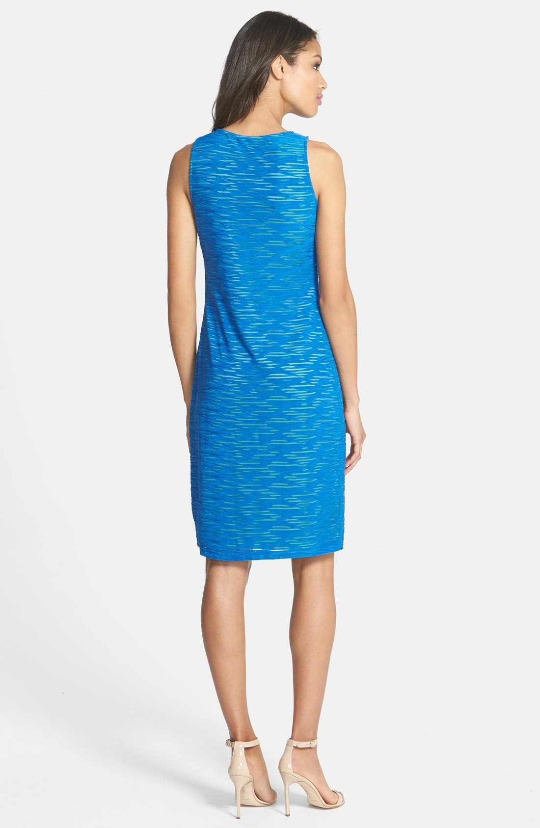 Alternate Image 2  - Marc New York by Andrew Marc Textured Knit Sheath Dress