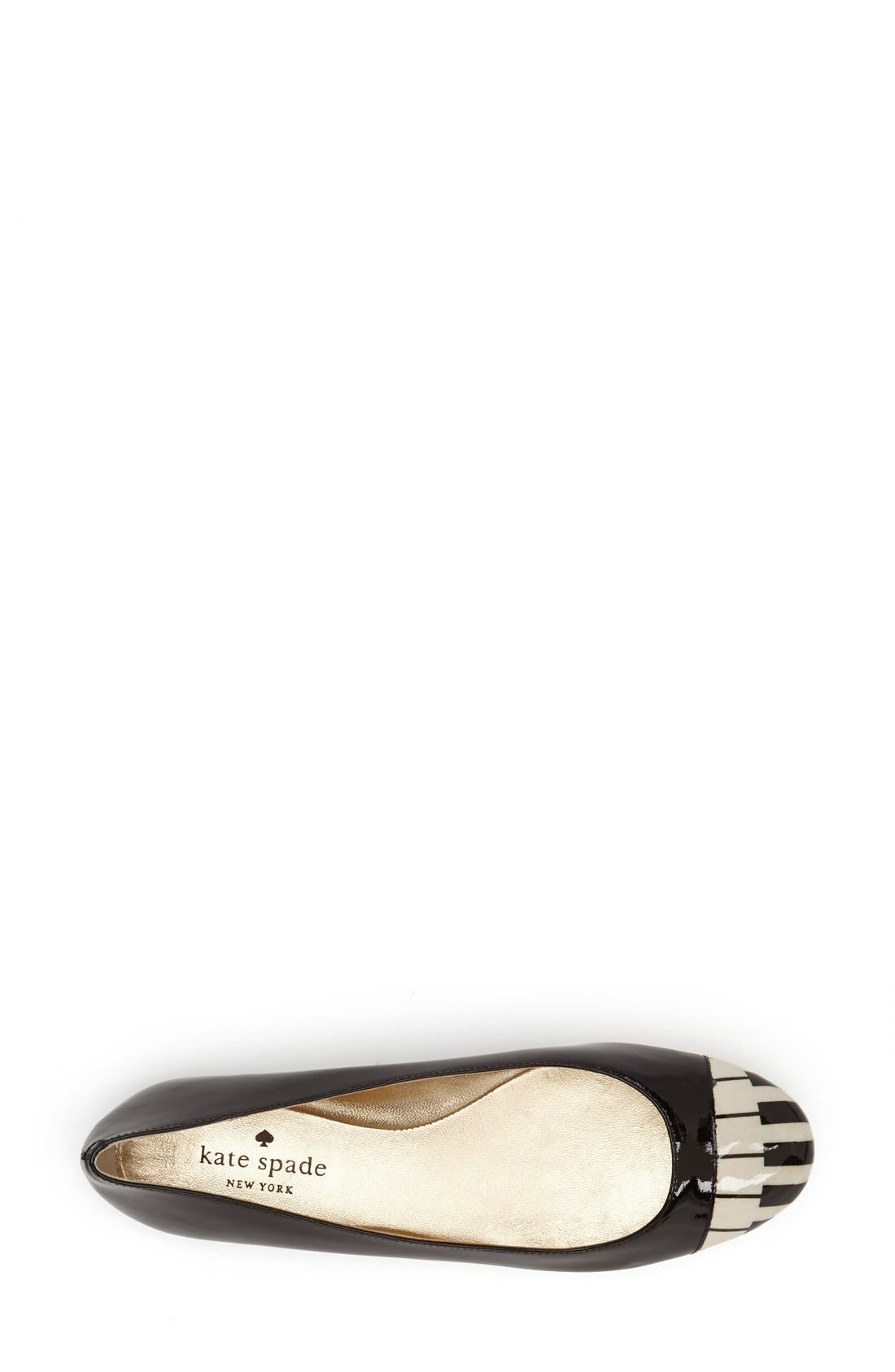 Alternate Image 3  - kate spade new york 'jazz' flat (Women)