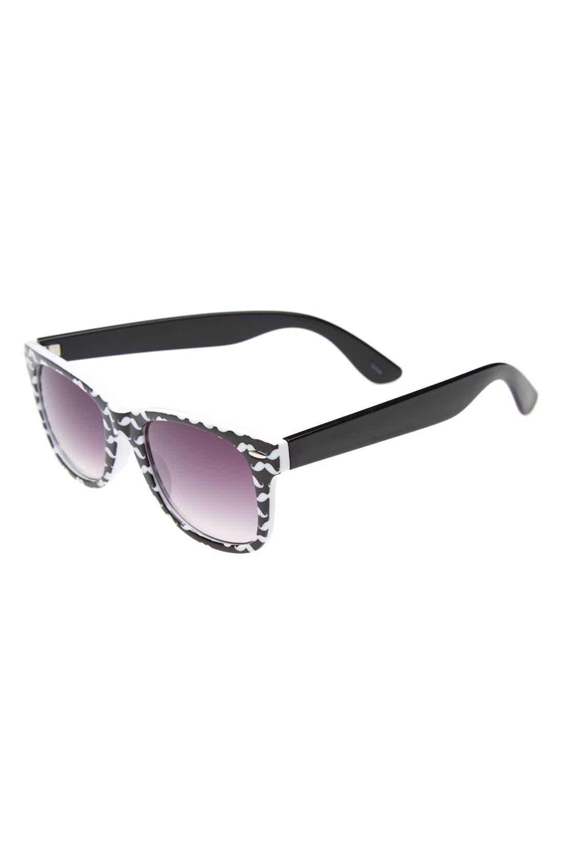 Alternate Image 1 Selected - Icon Eyewear 50mm Retro Sunglasses (Girls)