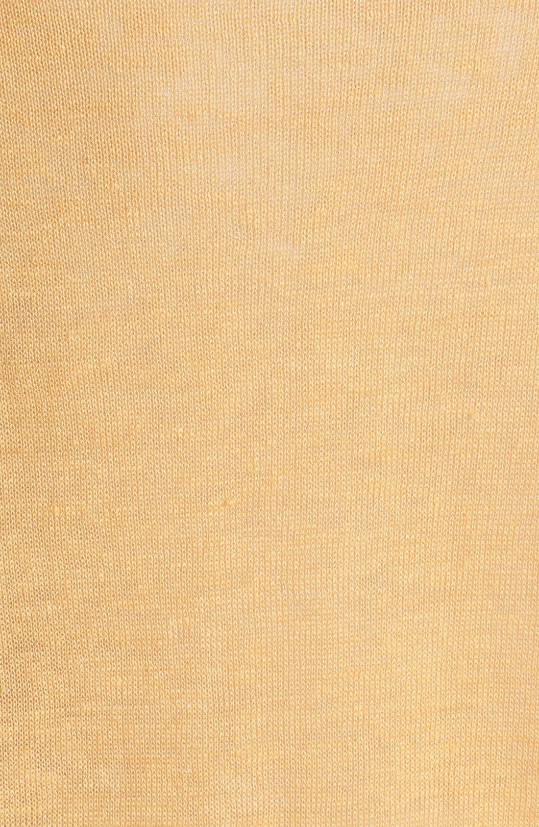 Alternate Image 3  - Eileen Fisher Ballet Neck Organic Linen Top (Regular & Petite)