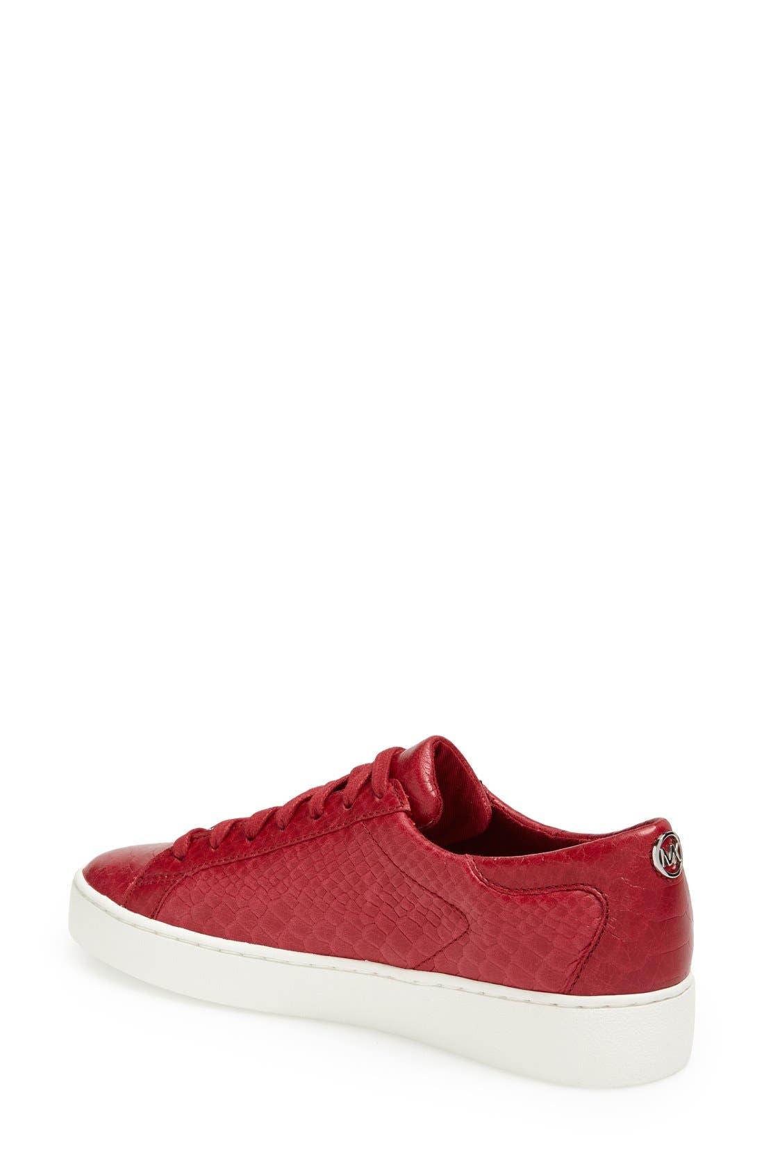 'Keaton' Sneaker,                             Alternate thumbnail 2, color,                             Scarlet