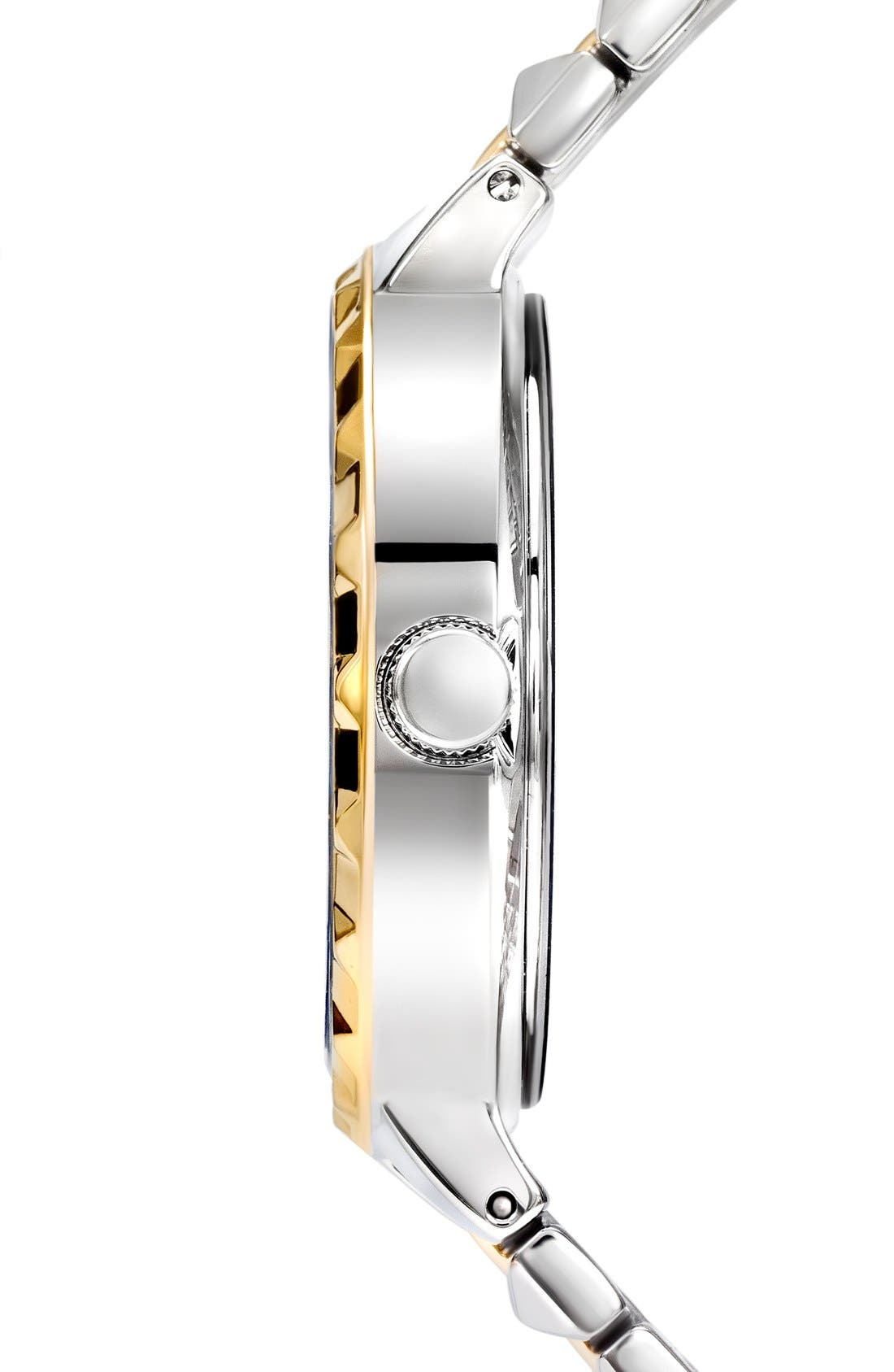 Alternate Image 3  - VERSUS by Versace 'Coral Gables' Studded Bracelet Watch, 36mm