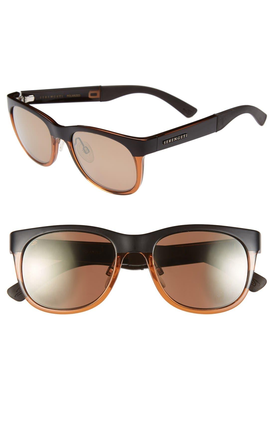 Alternate Image 1 Selected - Serengeti 'Milano' 50mm Polarized Sunglasses