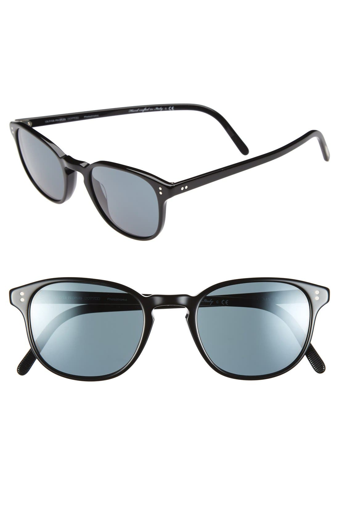 Alternate Image 1 Selected - Oliver Peoples 'Fairmont' 49mm Sunglasses