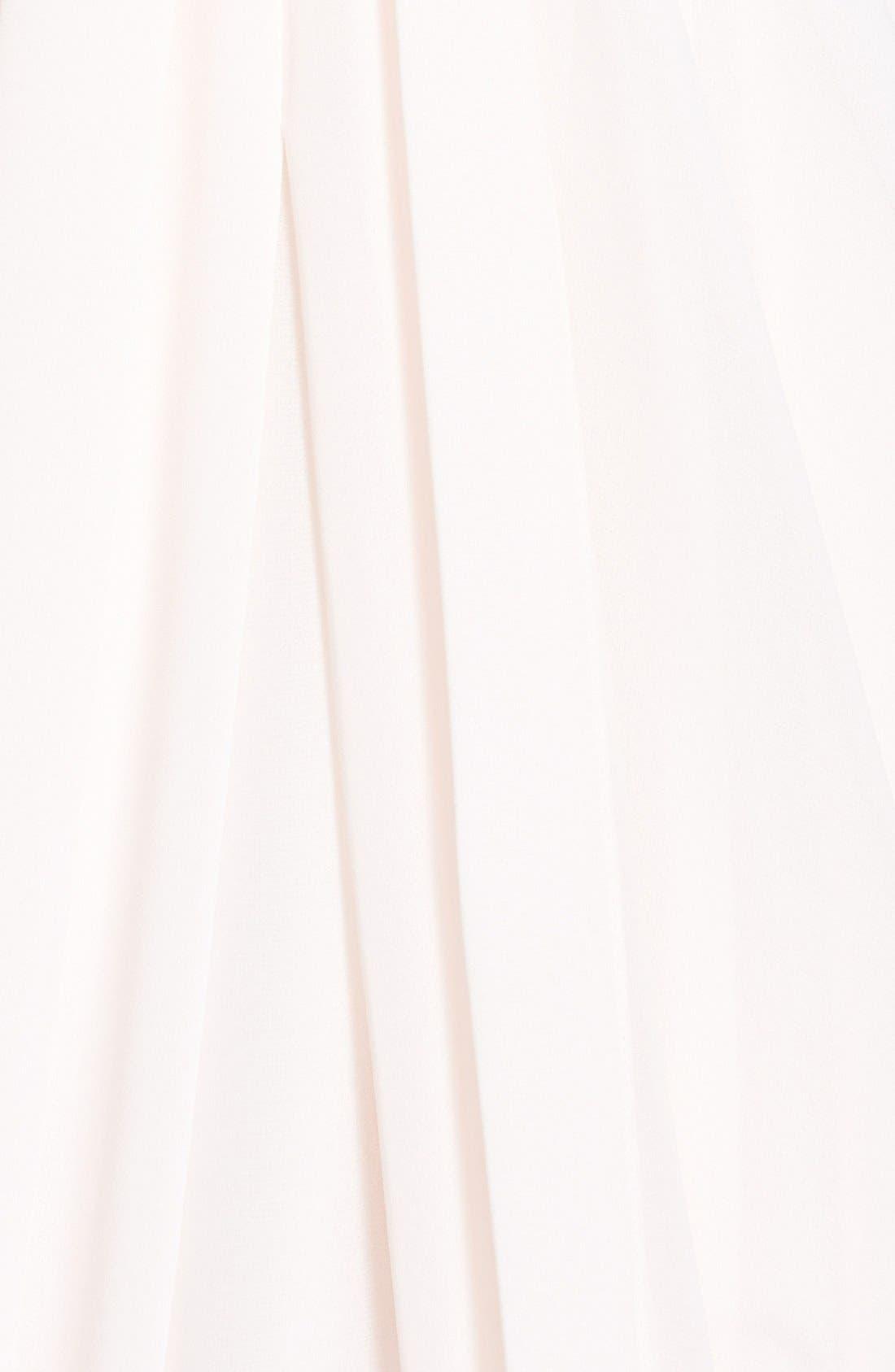 Alternate Image 3  - Ted Baker London 'Lyonele' Cape Back Draped Chiffon Maxi Dress