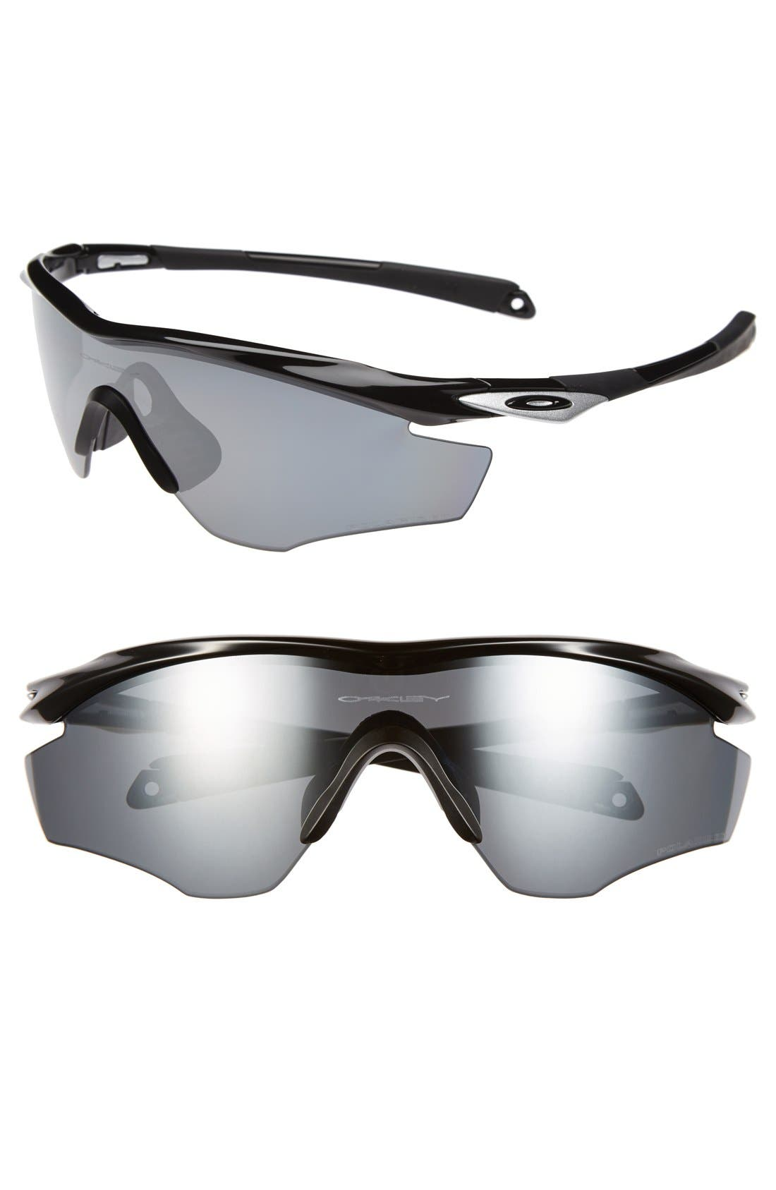 Alternate Image 1 Selected - Oakley 'M2 Frame' 175mm Polarized Shield Sunglasses