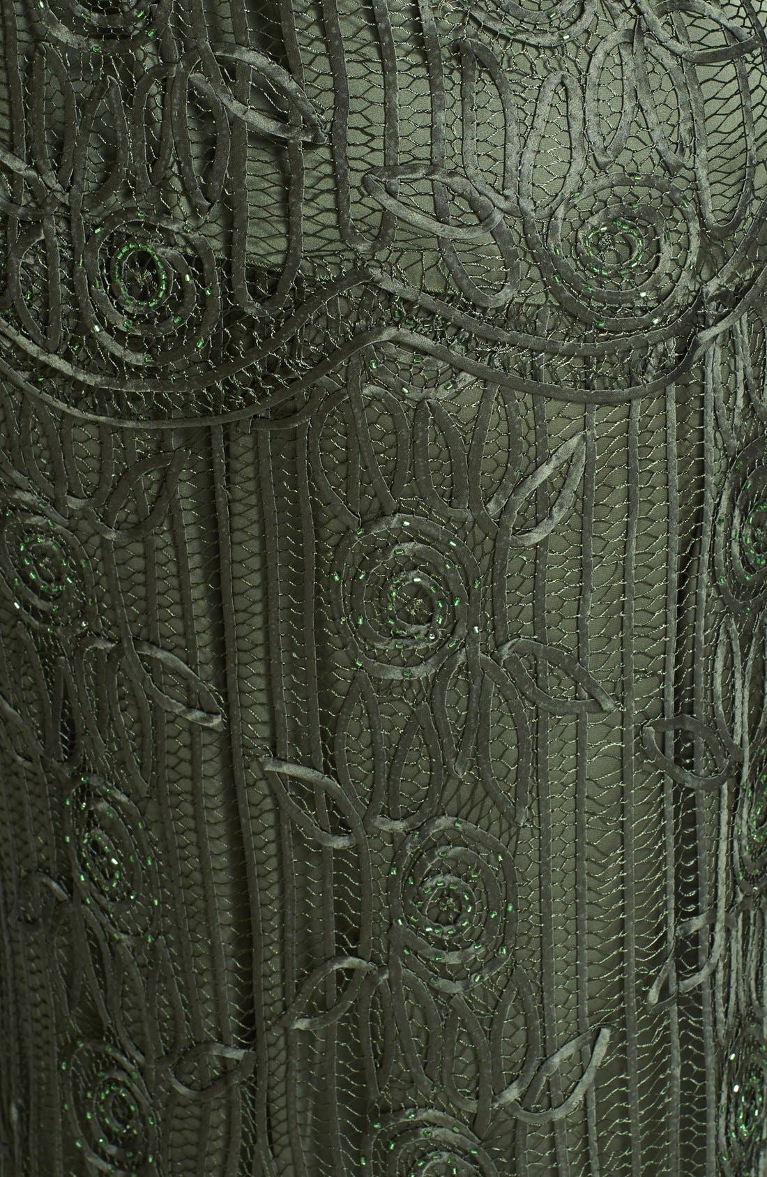 Alternate Image 4  - Soulmates 3-Piece Silk Crochet Skirt Set (Plus Size)