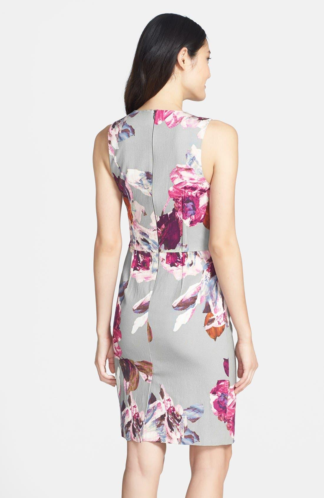 Alternate Image 2  - Trina Turk 'Kurdson' Print Woven Sheath dress