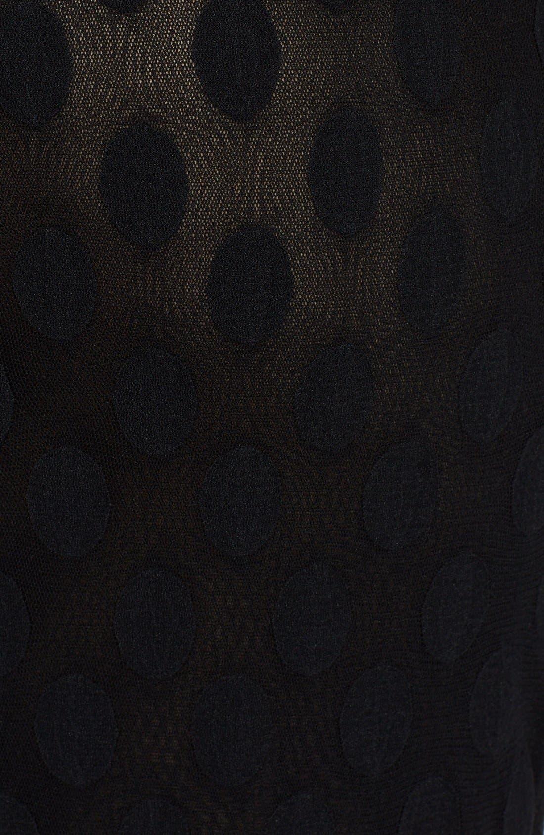 Alternate Image 3  - Jean Paul Gaultier Flocked Midi Skirt