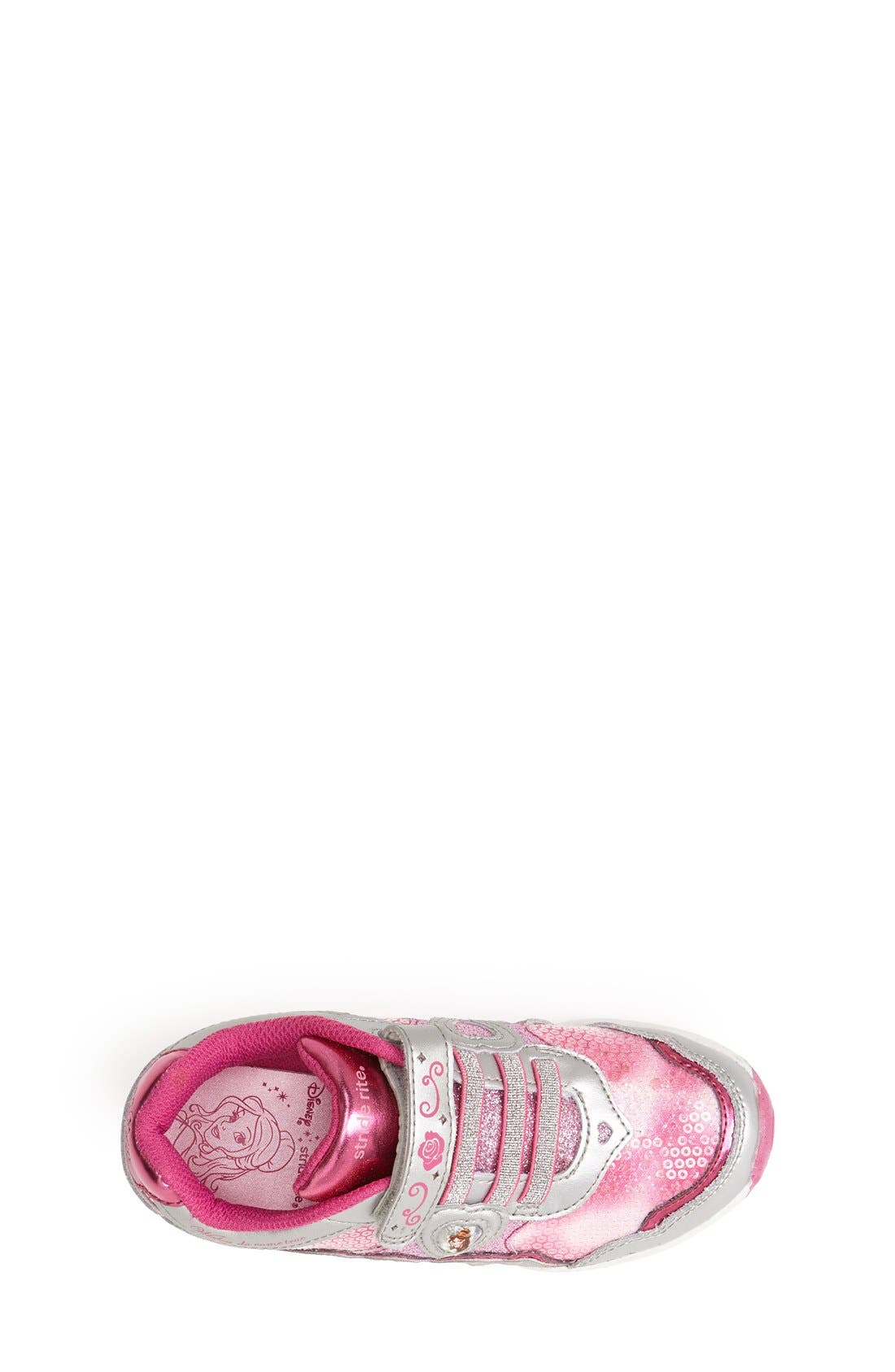 Alternate Image 3  - Stride Rite 'Disney Wish Lights - Belle' Light-Up Sneaker (Walker, Toddler & Little Kid)