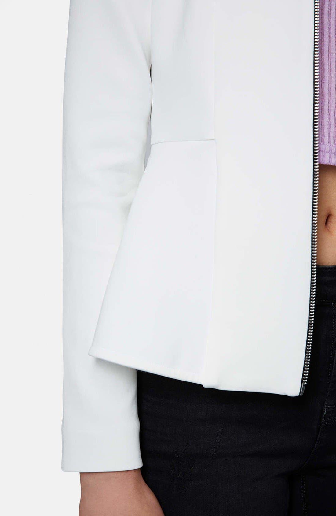 Alternate Image 4  - Topshop Tailored Peplum Jacket