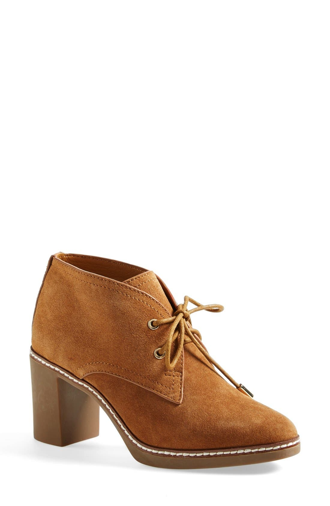 Alternate Image 1 Selected - Tory Burch 'Hilary' Suede Chukka Bootie (Women)
