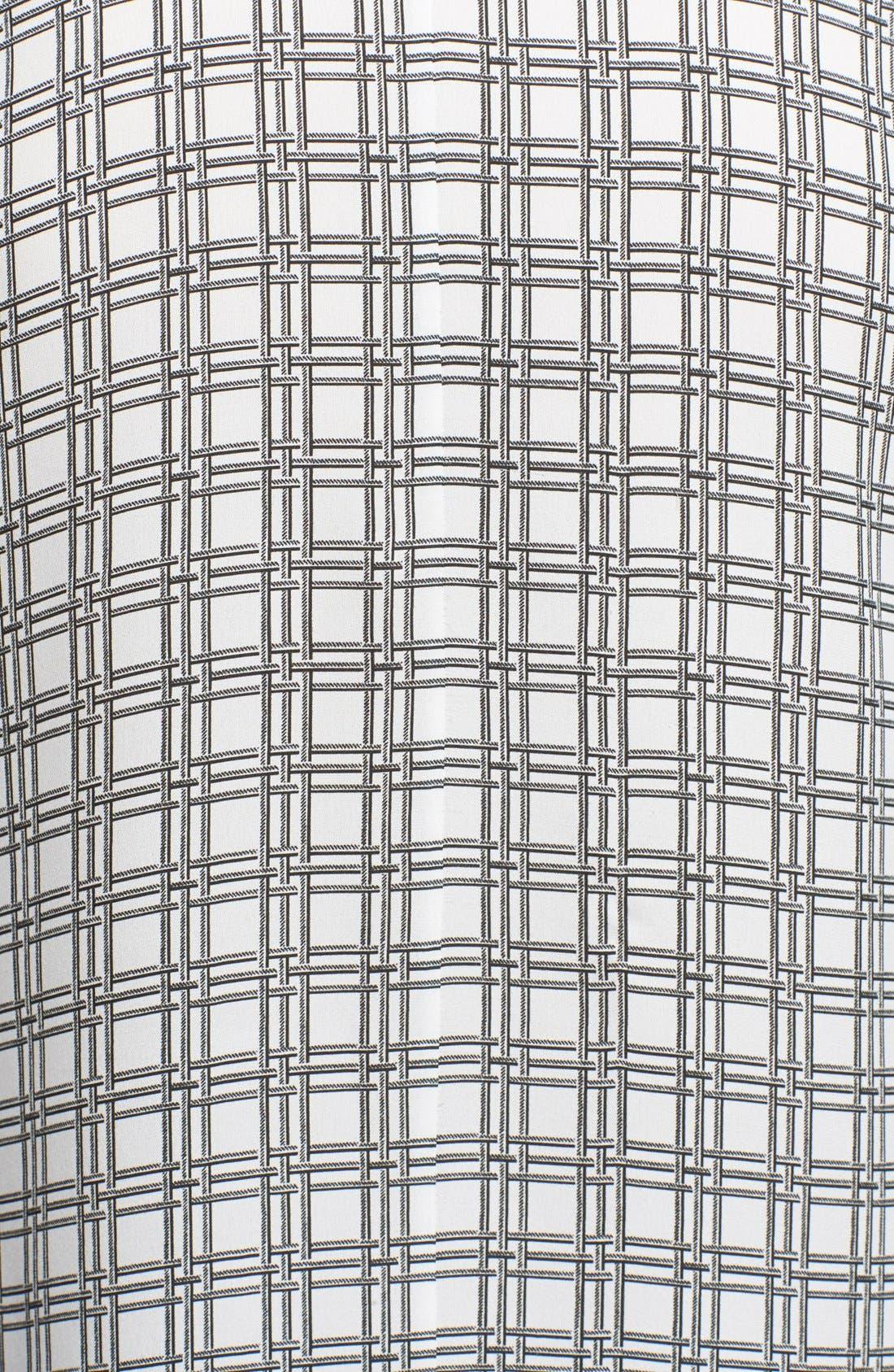 Alternate Image 3  - Theory 'Bringam' Print Silk Tank