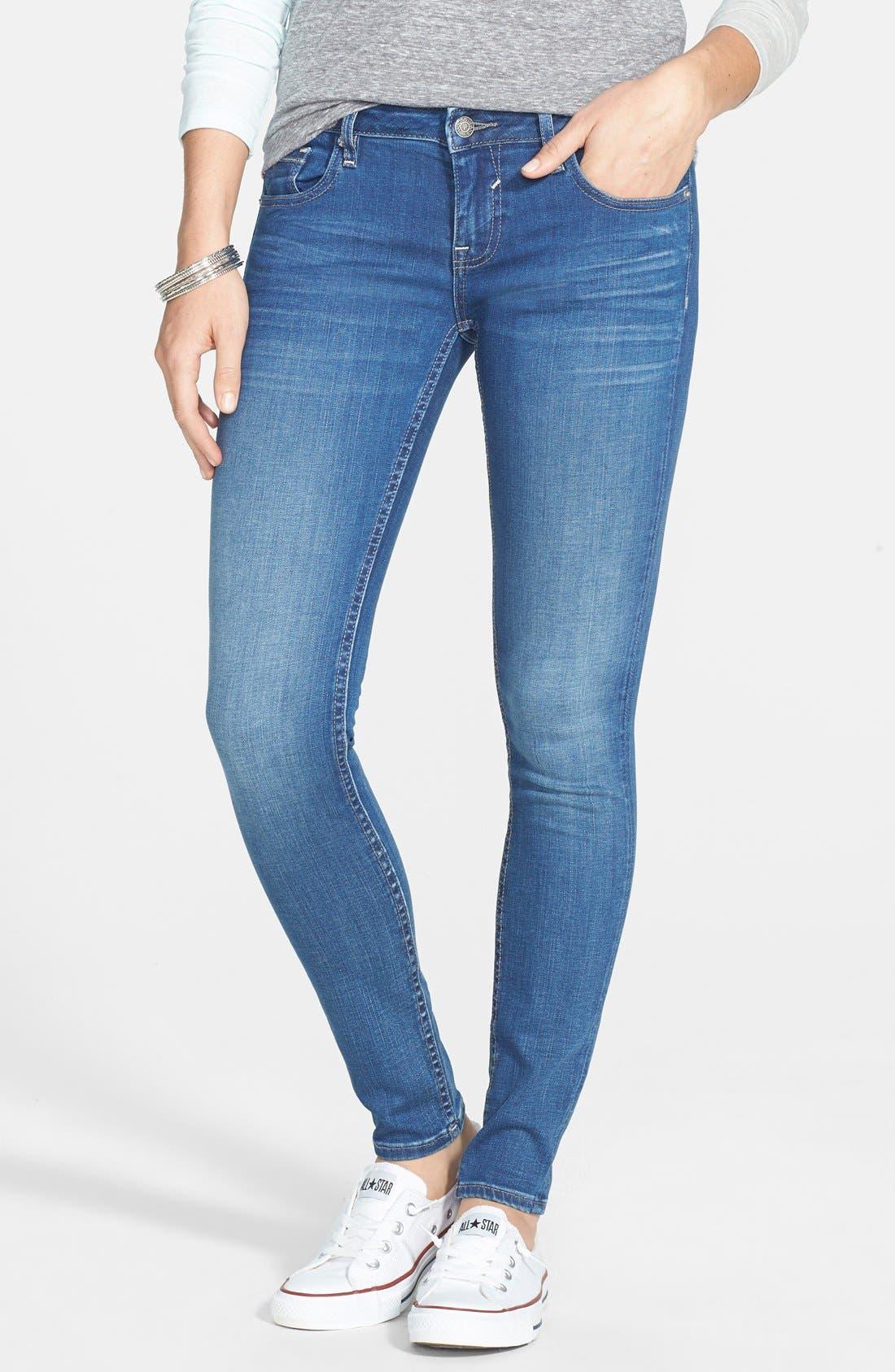 Alternate Image 1 Selected - Vigoss Skinny Jeans (Medium Wash)