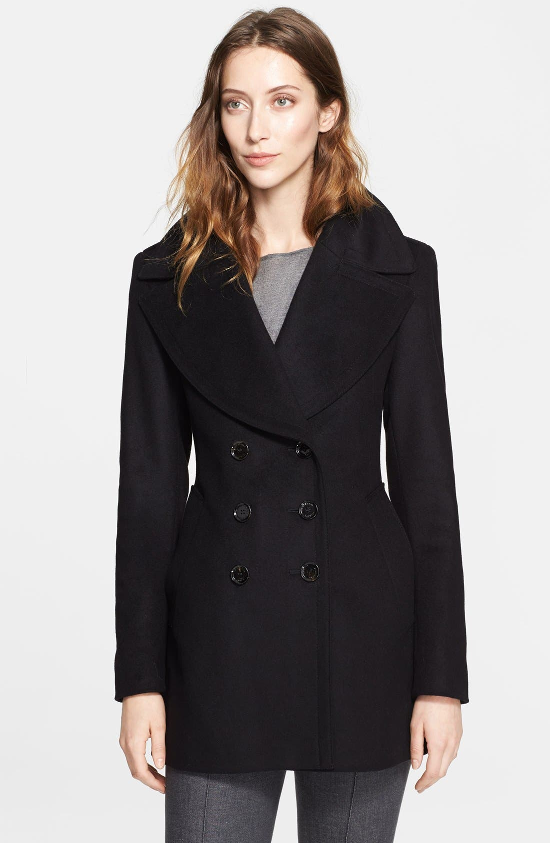 Alternate Image 1 Selected - Burberry London Wool & Cashmere Coat