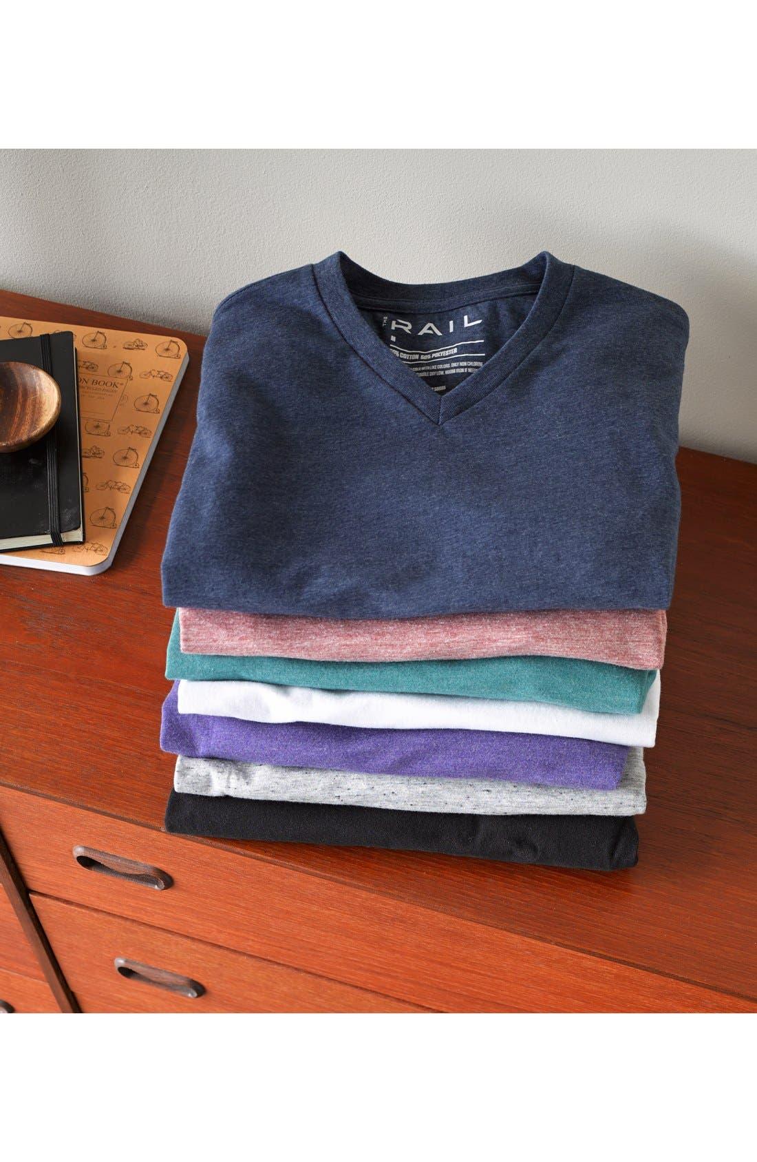 Alternate Image 4  - The Rail 'Mock Twist' Henley T-Shirt