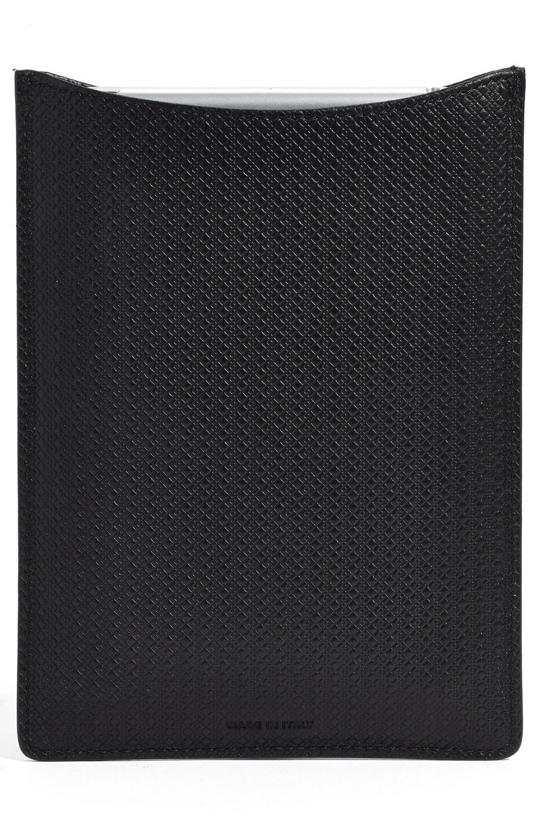 Alternate Image 3  - Canali Leather iPad Mini Sleeve