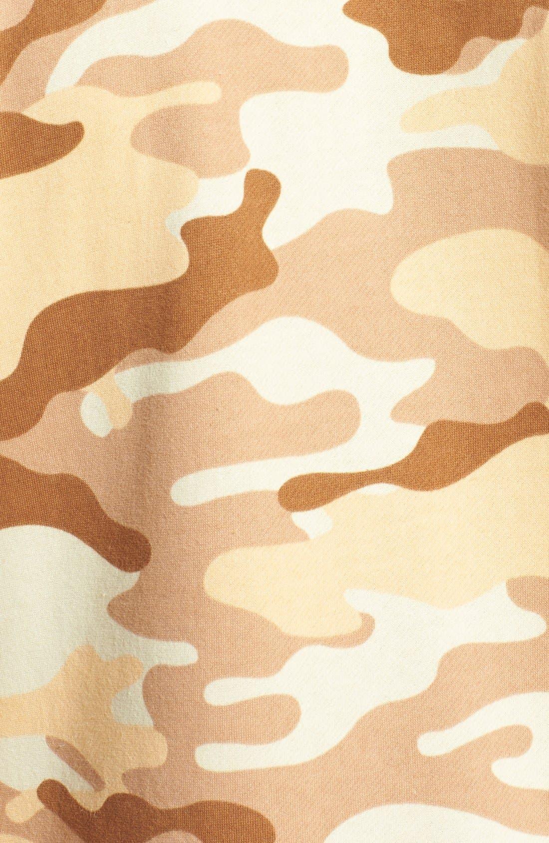Alternate Image 3  - ZOOOP iT UP™ Camo Desert Zip Hoodie Jumpsuit
