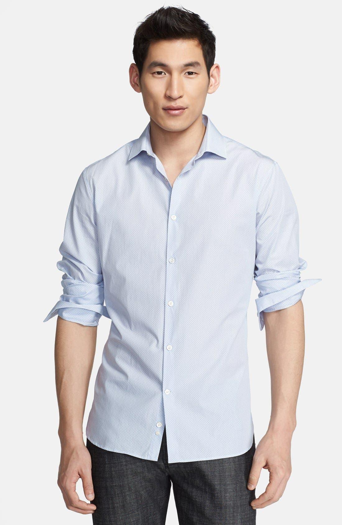 Main Image - John Varvatos Collection Slim Fit Dress Shirt