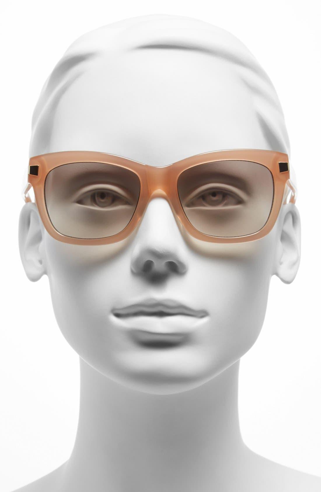 Alternate Image 2  - kate spade new york 52mm retro sunglasses