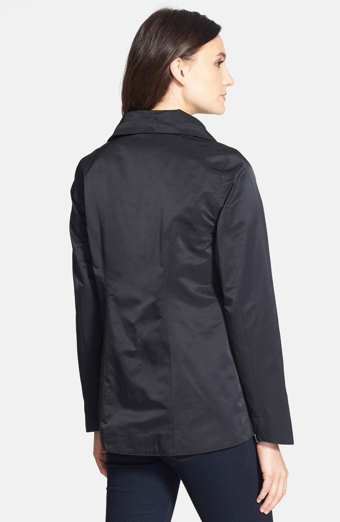 Alternate Image 2  - Eileen Fisher Convertible Collar Asymmetrical Jacket