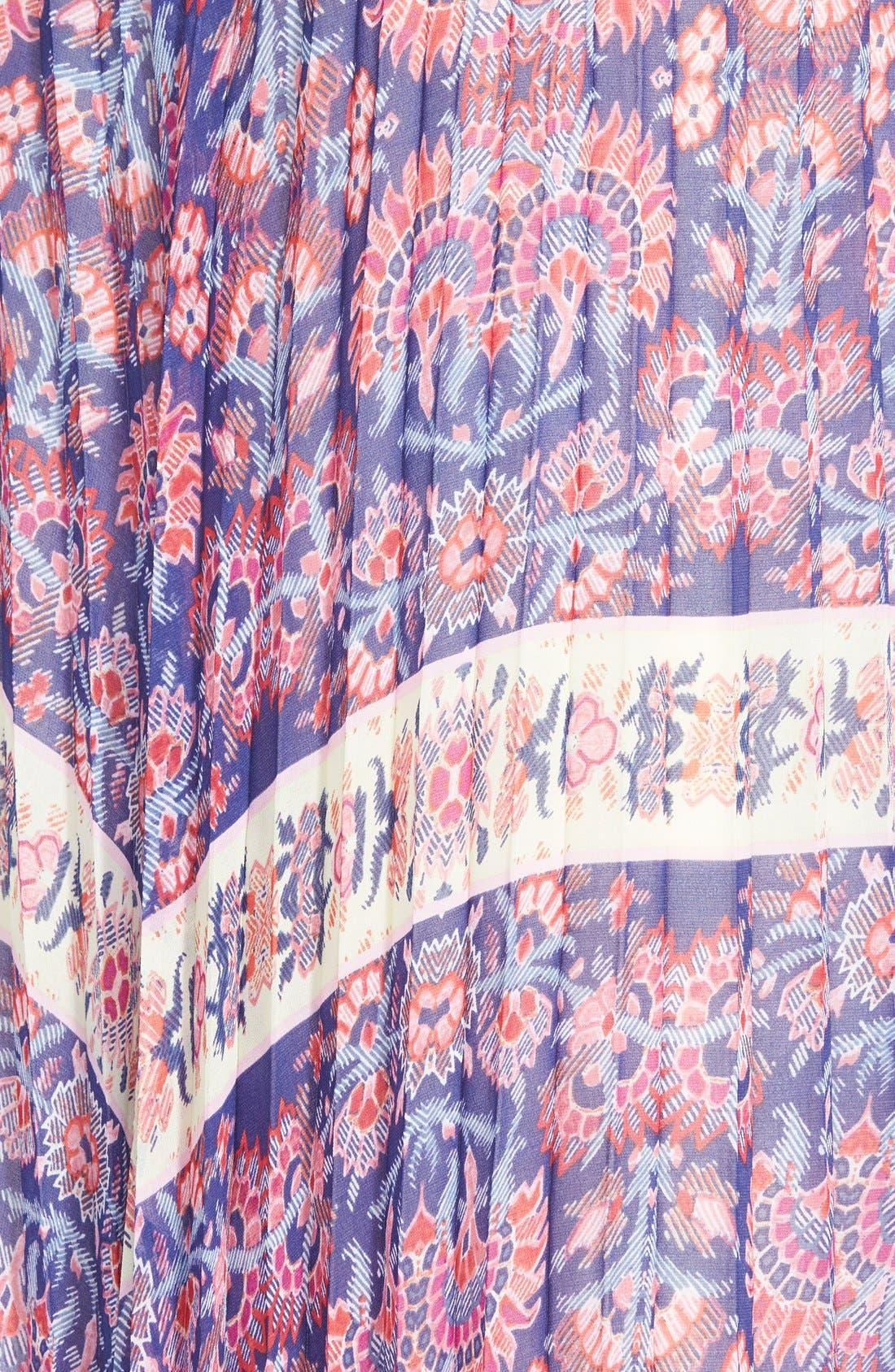 Alternate Image 3  - Like Mynded Pleat Maxi Skirt