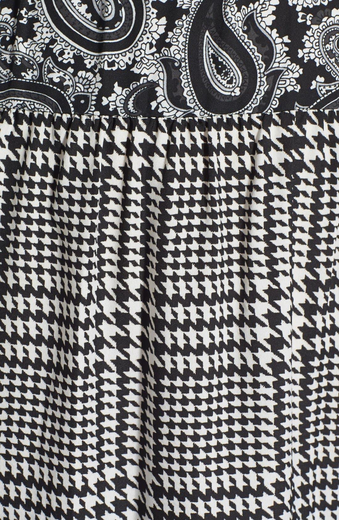 Alternate Image 3  - MICHAEL Michael Kors 'Lazio' Mix Print Maxi Dress (Plus Size)