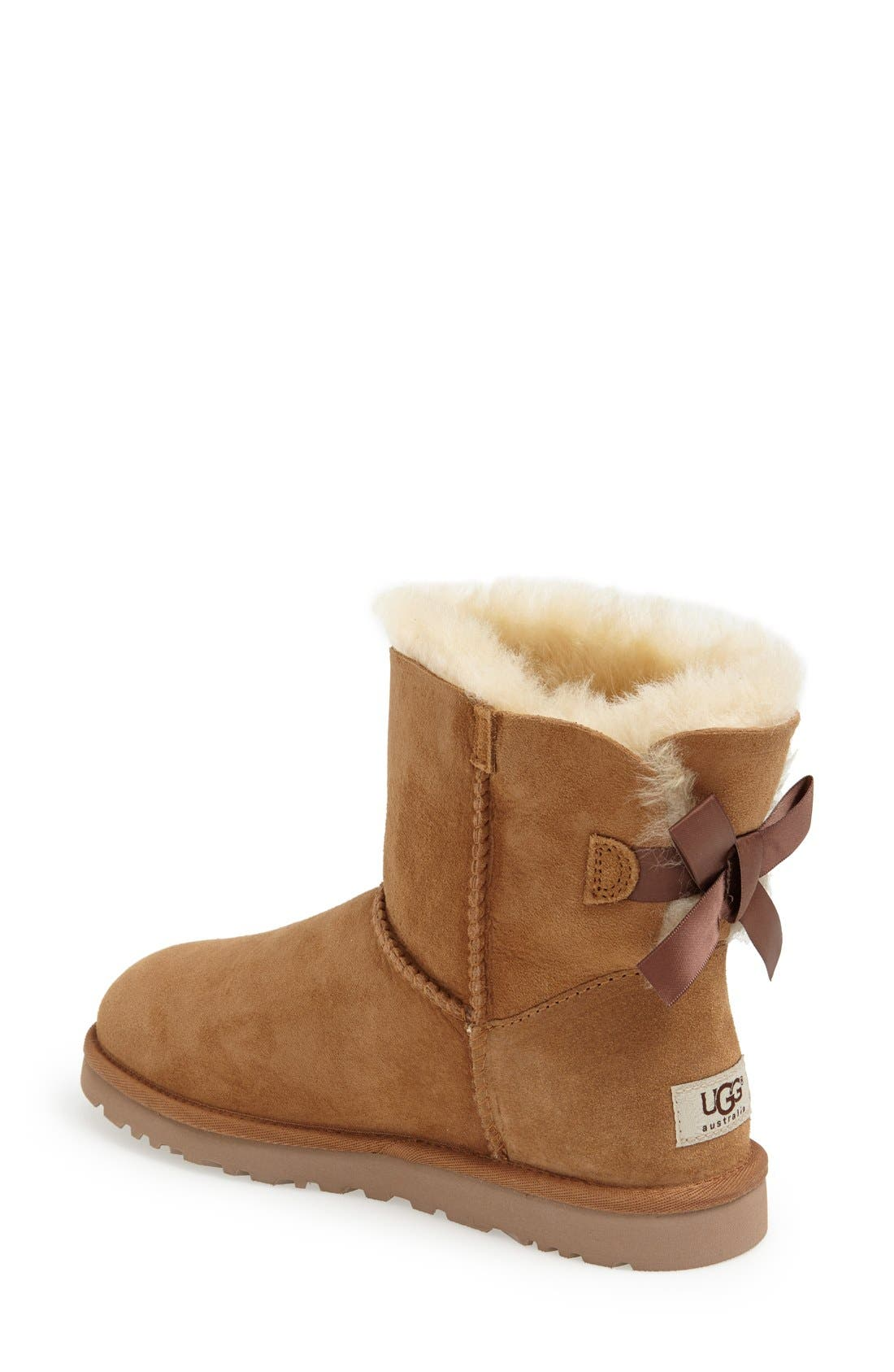 Alternate Image 2  - UGG® 'Mini Bailey Bow' Boot (Women)