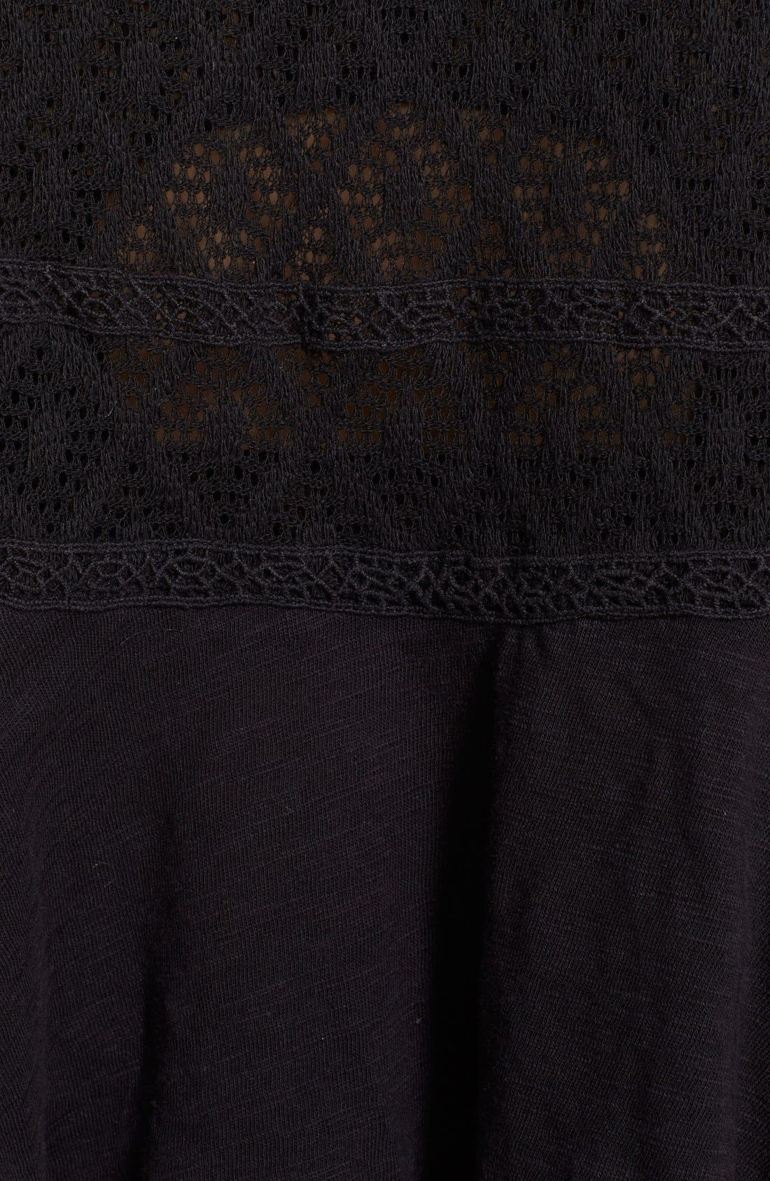 Alternate Image 3  - Free People 'English Rose' Embroidered Lace Top