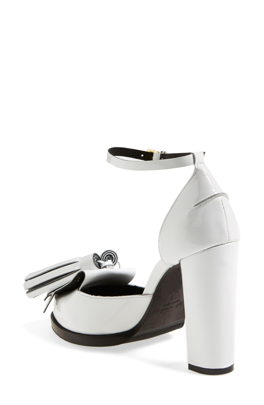Alternate Image 2  - MSGM Ankle Strap Pump (Women)
