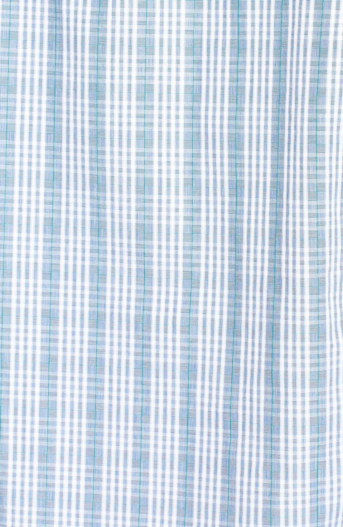 Alternate Image 2  - BOSS HUGO BOSS 'Ronny' Slim Fit Plaid Sport Shirt